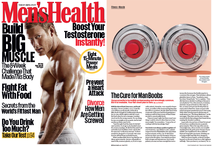 Men's Health April 2016